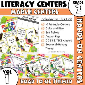 March Centers: Second Grade ELA