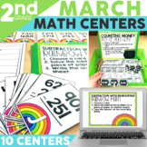 March Centers and Activities for 2nd Grade