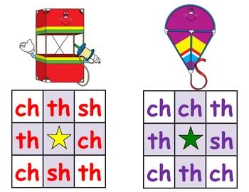 March Ch Sh Th Bingo