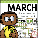 March Circle Time and Calendar Resources