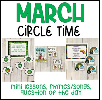 March Circle Time for Preschool