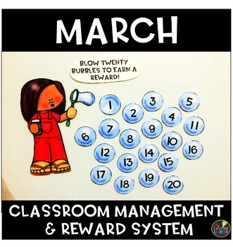 March Classroom Management and Reward System