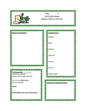 March Classroom Newsletter Template
