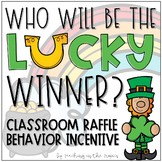 March Classroom Raffle Behavior Incentive