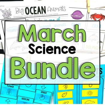 "March ""Click-and-Print"" Science Bundle"