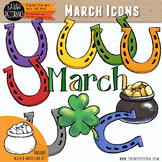 March Clip Art {First Edition}