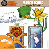March Clip Art {Second Edition}