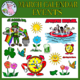 March Clipart - Celebrate Events