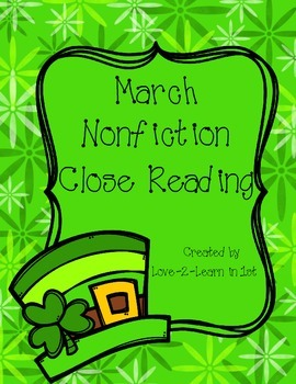 March Close Reading