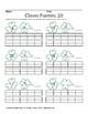 March Clover Frames: 20 (Math), ASL Sign Language