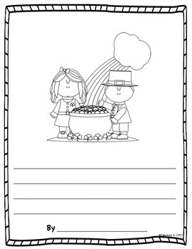 March Color & Write (Writing Activity Journal for K-2) for Daily 5