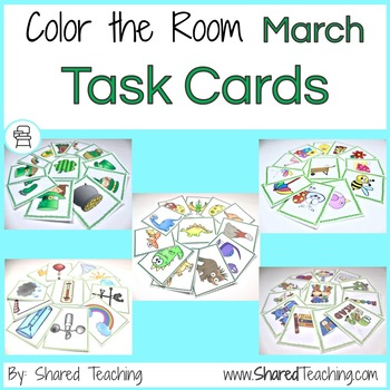 March Color the Room Bundle