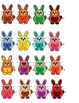 Colorful Bunnies 4 Letter Sight Word Scramble Literacy Center Week 1 & 2