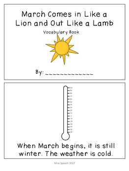 March Comes in Like a Lion Adapted Book/ Sorting