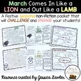 March Lion and Lamb Nonfiction Unit