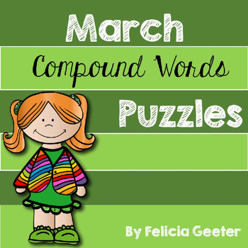 March Compound Word Puzzles