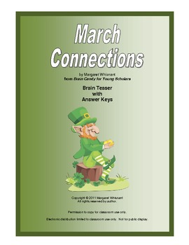 March Connections    Free Brain Teasers