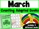 March Counting Adapted Books {set of 5 books)