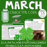 March CRACK THE CODE (Grades 1-5)