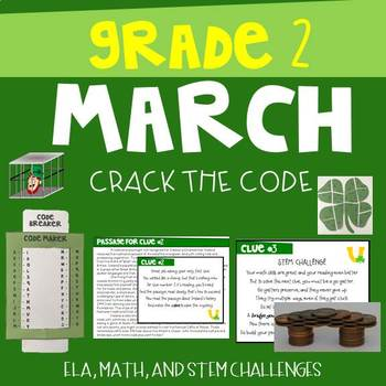 March Crack the Code Grade 2