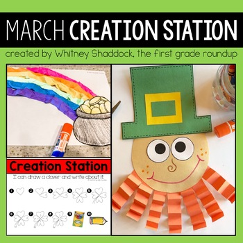 March Creation Stations for Kindergarten