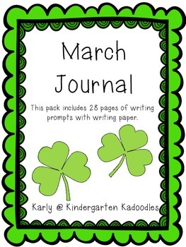 March Creative Writing Journal