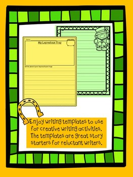 March Creative Writing Prompts & Printables