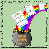 March Creativity Challenges|GATE, Enrichment, Early Finishers
