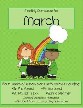 March Curriculum