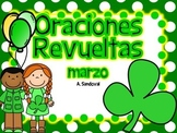 Oraciones revueltas Scrambled Sentences for MARCH in Spanish