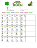 March Daily Behavior Chart