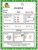 March Daily Common Core Third Grade Practice for Language and Math Skills