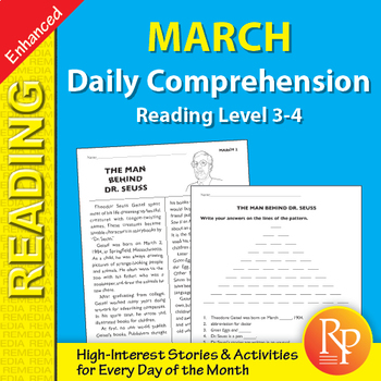 March: Daily Comprehension - Enhanced