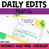 March Daily Edits