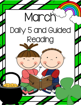March Daily Guided Reading Bundle (Reading and Writing Act