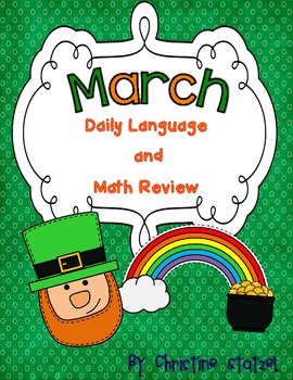 March Daily Language and Math Practice