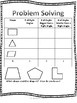 March Daily Math Pages (Focus on 2-D & 3-D Shapes)