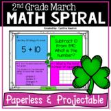 Daily Math Spiral! March!