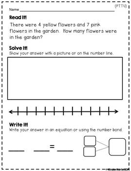 March Daily Word Problems