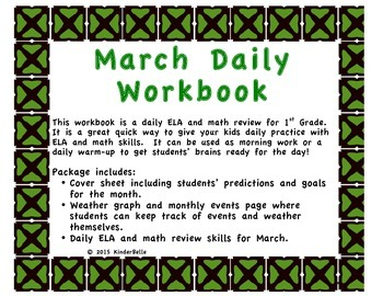 March Daily Morning Work
