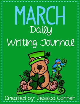 March No Prep Writing Journal