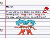 March Daily Writing Journal Prompts