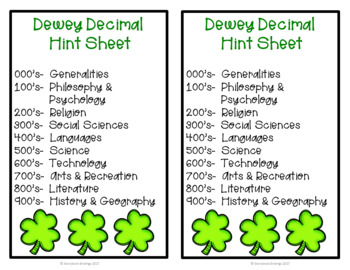 March Dewey Bundle