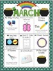 March Differentiated Literacy Center Word Work Menu (Commo