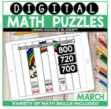 March Digital Math Puzzles