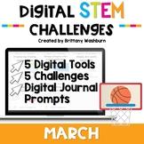 March Digital STEM Challenges™