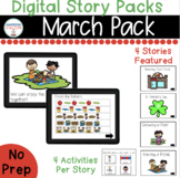 March Digital Story Packs  (Boom Learning Included)