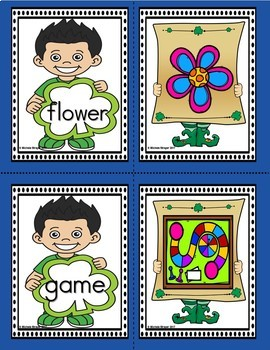 March Dolch Words and Pictures Bundle