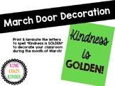 March Door Decoration
