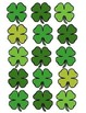 """March Door Decoration Set:  """"Create Your Own Luck"""" for St. Patrick's Day"""